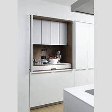 Disappearing Act 14 Minimalist Hidden Kitchens  Kitchen
