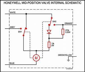 Mid Position Valve Internal Wiring