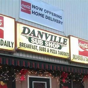 new menu - Picture of Danville Sub Shop, Danville ...