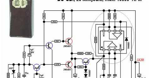 4 Pin Cdi Ignition Wiring Diagram by Dc Cdi Schematic Updated Techy At Day At Noon