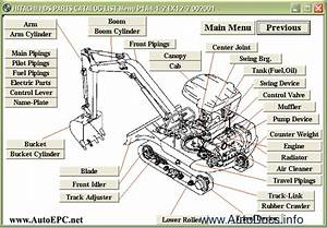 Hitachi Small Excavators Spare Parts Catalogue  Technical