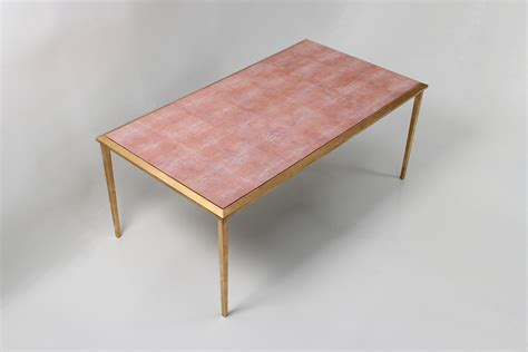 shagreen coffee table square serena shagreen coffee table forwood design