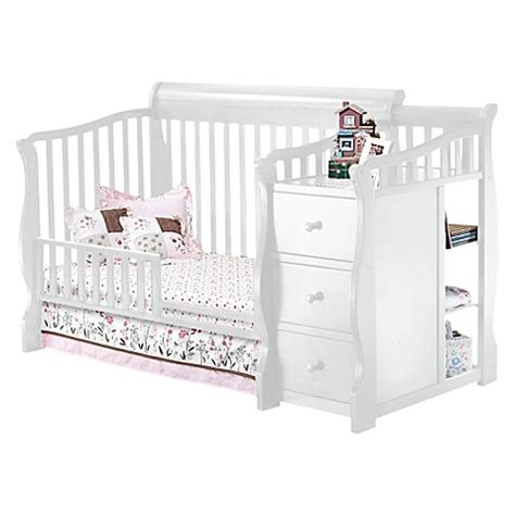 Sorelle Toddler Bed by Sorelle Tuscany Toddler Guard Rail In White