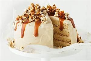 Caramel popcorn ice-cream cake - Recipes - delicious.com.au