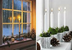 Deko Zum Hängen Ins Fenster : 1001 ideen zum thema fensterbank weihnachtlich dekorieren ~ A.2002-acura-tl-radio.info Haus und Dekorationen