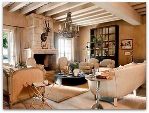French, Country, House, Interior