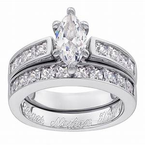 Cheap sterling silver wedding sets online cheap hot sale for Cheap bridal wedding ring sets