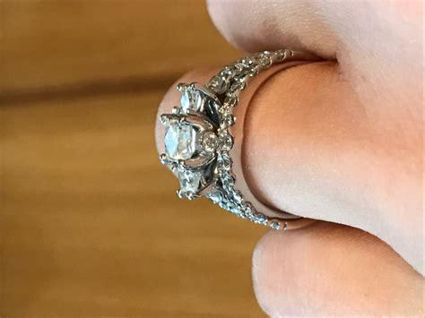 leo diamond engagement band kay wrap