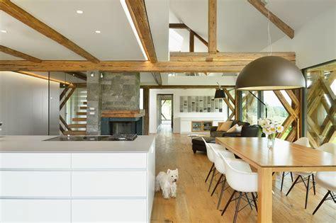 Barn Renovation Costs by Architects Transform 150 Year Slovenian Hay Barn Into