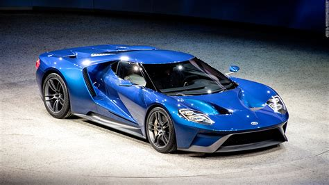 Ford Unveils New Gt Supercar