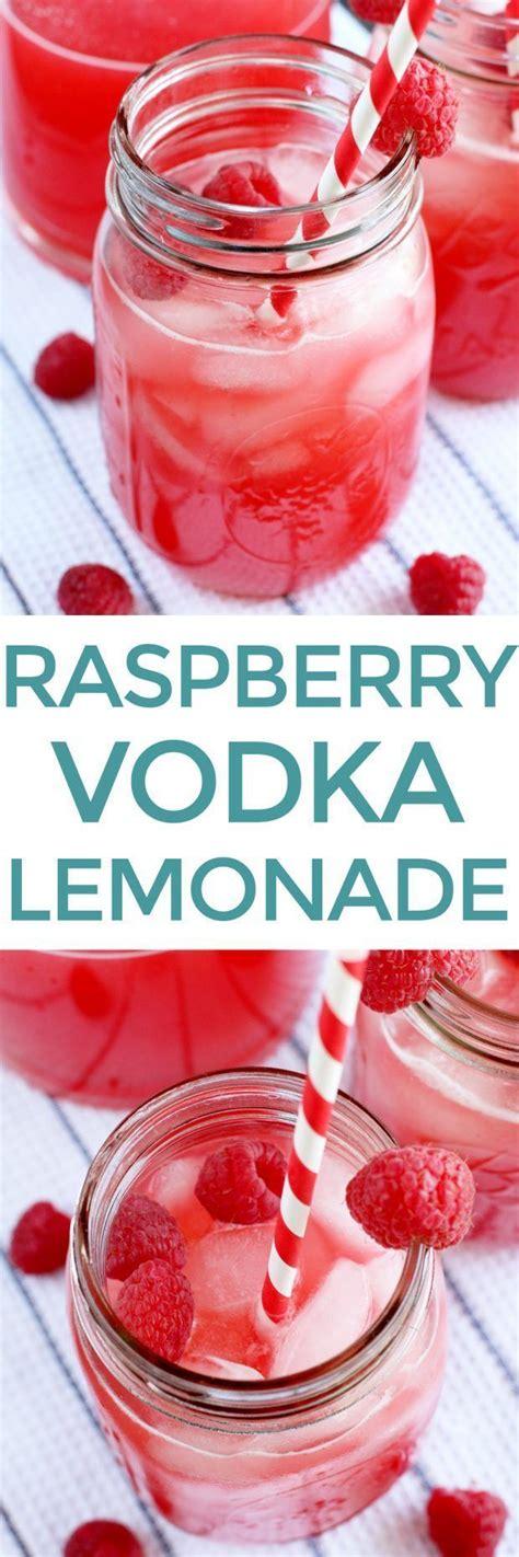 raspberry vodka lemonade recipe vodka lemonade