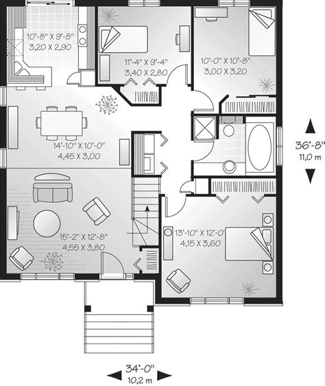 single floor plans modern house single floor plans modern single house