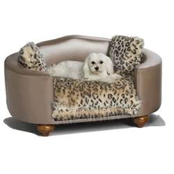 hollywood leopard dog bed luxury dog boutique at glamourmutt com
