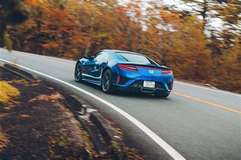 mclaren   honda nsx twin test review  japan car