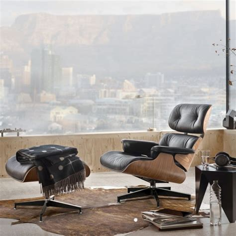 Eames Chair And Ottoman Replica by Replica Eames Chair And Ottoman Leather Loungers