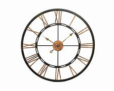 Wall Clocks Large by Large Metal Wall Clock Home Accessories Living Room Clocks