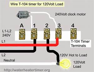 Solved  How To Wire A Intermatic Timer T104 240 V To A