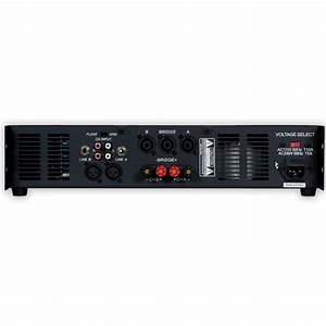 Podium Pro Vx1000 Power Amplifier 2 Channel 1000 Watt Pa