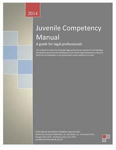 Michigan U0026 39 S Juvenile Competency Manual