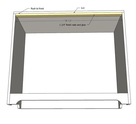 fillman dresser  changing table dresser plans diy
