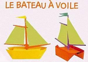 Origami Bateau à Voile : le bateau a voile origami pinterest origami ~ Dode.kayakingforconservation.com Idées de Décoration