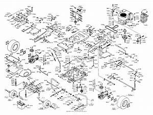 Dixon Ztr 4515b  2000  Parts Diagram For Chassis