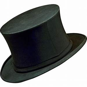 Elegant Antique Stetson 1800s Collapsible Top Hat ...