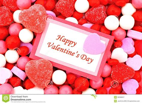 Happy Valentines Day stock image. Image of sweet, sweets ...