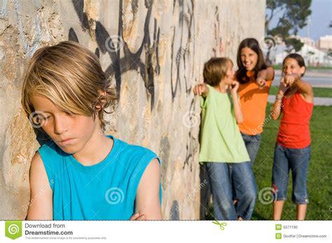 school bully stock photo image