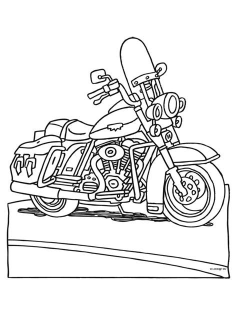 Kleurplaat Crossmotors by Kleurplaat Motor Kleurplaten Nl