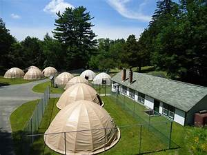 Fabric Structure Domes Protecting Fish Farm Pens