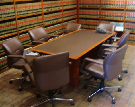 law office auction conference tables
