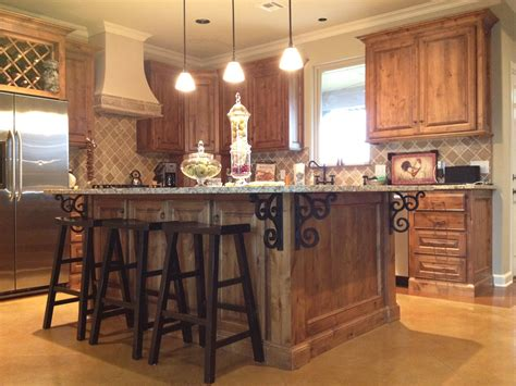 granite island kitchen idea gallery
