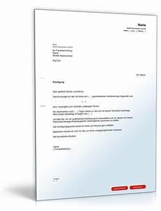 Außerordentliche Kündigung Mietvertrag : k ndigung vorlage arbeitsvertrag kostenlos fwptc pinterest ~ Lizthompson.info Haus und Dekorationen