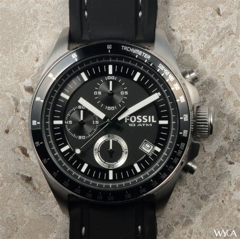 Fossil Decker Chronograph Review  Watch Reviews Wyca