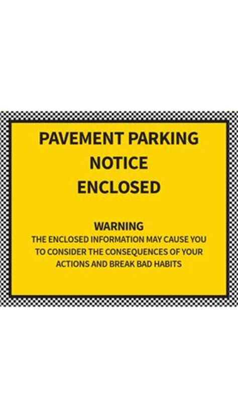 pavement parking notice enclosed  emma  brown issuu
