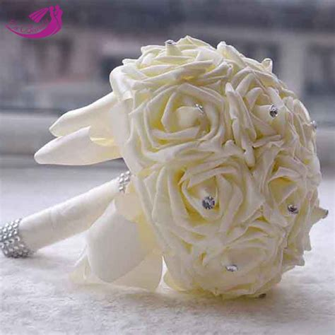 hot artificial flowers cheap wedding flowers bridal