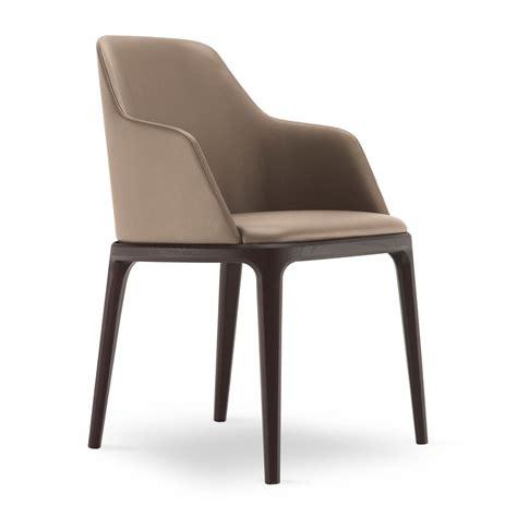 chaise accoudoirs grace poliform chair