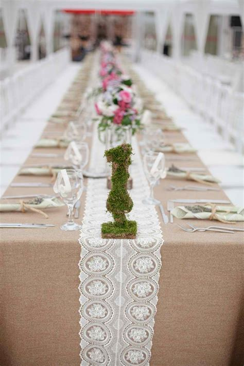 rustic table linens for weddings wedding table ideas the bright ideas blog