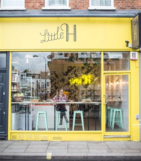Check out our london coffee shop selection for the very best in unique or custom, handmade pieces from our shops. Little H: Cali-style smoothie & snack bar in Parsons Green   Juice bar design, Cafe decor, Cafe ...