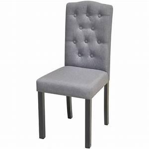 Küchen Und Esszimmerstühle : der 2 esszimmerst hle stoffbezug dunkelgrau online shop ~ Watch28wear.com Haus und Dekorationen
