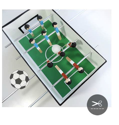 make cardboard foosball table 5 amazing toys you can make with cardboard petit small