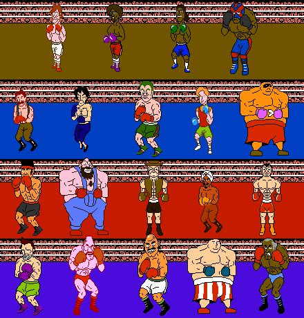 Punchout Roster Idea By Maximal881 On Deviantart