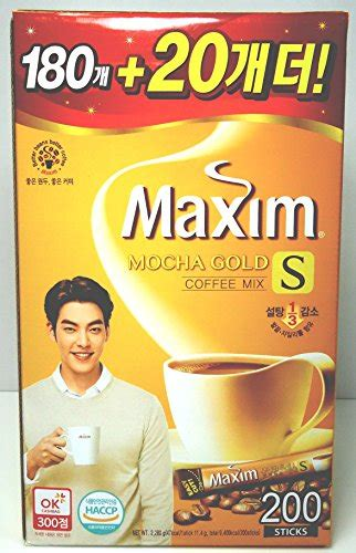 They have different flavours available but the maxim mocha gold mild is by far the most popular one. Maxim Korean Instant Coffee mix 200 sticks (packs) - MOCHA ...