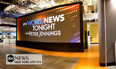 ABC News Broadcast Set Design Gallery