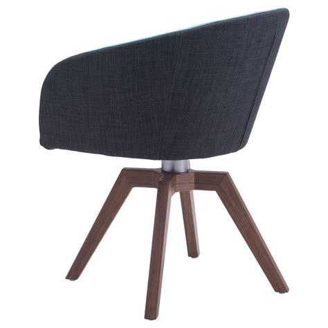 modern tate swivel dining chair 2 set blue gray