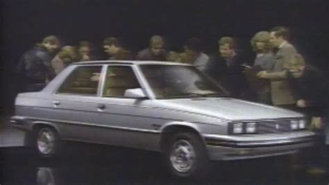 1983 renault alliance 187 1983 renault alliance commercials