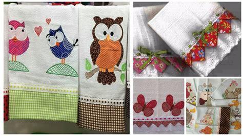 como hacer para la cocina tutorial c 243 mo decorar con tela servilletas y toallas de