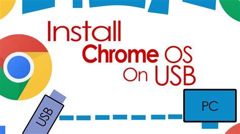 Install Chrome Os Onto A Usb