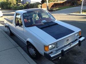 Vw Caddy Diesel : find used 1982 caddy vw rabbit pick up diesel 1 6 in ~ Kayakingforconservation.com Haus und Dekorationen